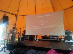 Miriyam Aouragh's Keynote at Noisy Square