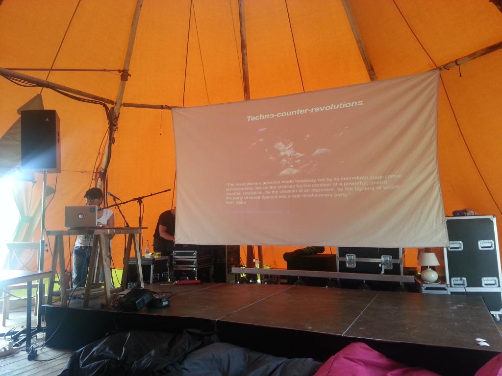 Miriyam Aouragh's Keynote at Noisy Square