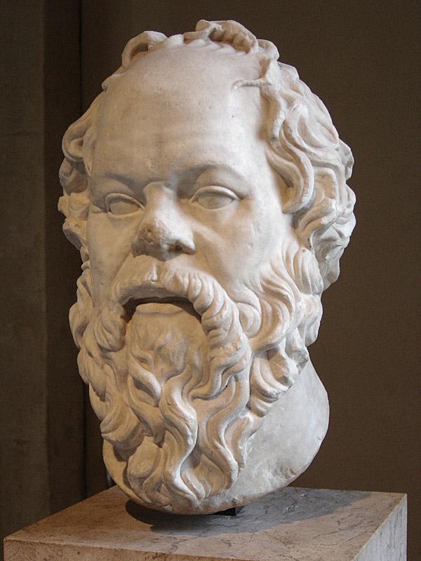 Socrates (CC image by Eric Gaba)
